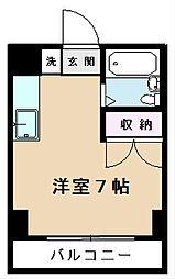 日吉ビル[3階]の間取り