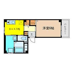 ティアイハウス[2階]の間取り