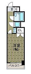 シングルハイツ[6階]の間取り