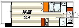 プレサンス京都烏丸NEXT[8階]の間取り