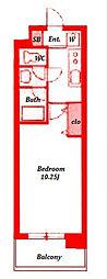 エーデルハイム[3階]の間取り