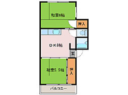 MOMO701[E1号室]の間取り