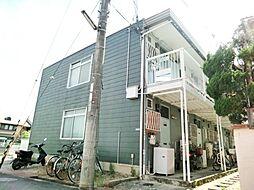 中川コーポ1[201号室]の外観