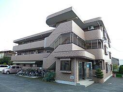 東京都羽村市緑ヶ丘4丁目の賃貸マンションの外観