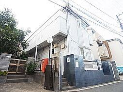 東京都足立区青井6丁目の賃貸アパートの外観