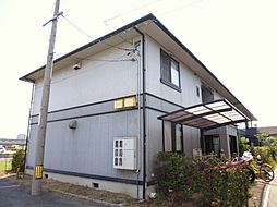 岡山県倉敷市南畝7丁目の賃貸アパートの外観