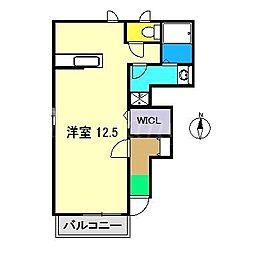 セードル21[1階]の間取り