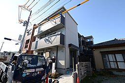 兵庫県西宮市若松町の賃貸アパートの外観