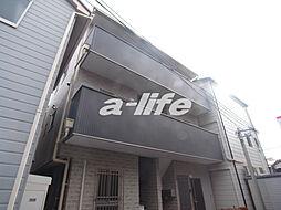 兵庫県神戸市中央区東雲通4丁目の賃貸アパートの外観