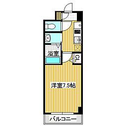 愛知県名古屋市中川区大畑町2丁目の賃貸マンションの間取り