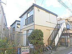 東京都大田区仲六郷2丁目の賃貸アパートの外観