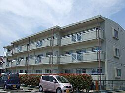 福岡県久留米市大善寺町宮本の賃貸マンションの外観
