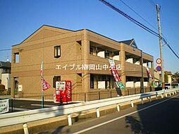 岡山県岡山市中区山崎丁目なしの賃貸アパートの外観