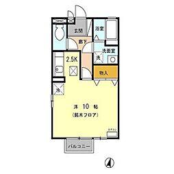 オーシャンベル[2階]の間取り