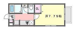 SMW津田沼[2階]の間取り