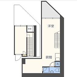 アクアプレイス大阪レジェンドII[1階]の間取り