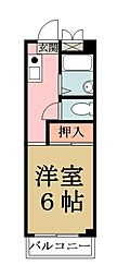 埼玉県八潮市大字上馬場の賃貸アパートの間取り