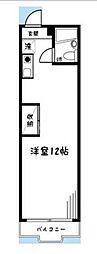 イーハトーブ磯子[2階]の間取り