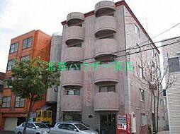 北海道札幌市東区北二十八条東13丁目の賃貸マンションの外観