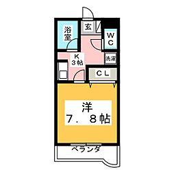 宮城県仙台市泉区八乙女中央4丁目の賃貸マンションの間取り