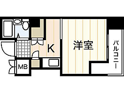 第7片山ビル[8階]の間取り