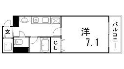 コートSK[3階]の間取り