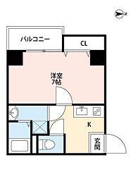 ETC福島[1006号室]の間取り