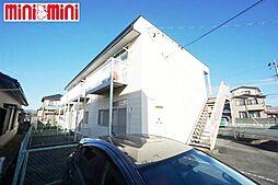 愛知県豊川市市田町中社の賃貸マンションの外観