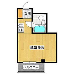 ラ・レジダンス・ド・四条[5階]の間取り