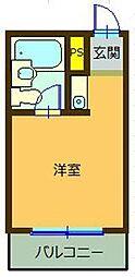 千代田カレッジビラ[1階]の間取り