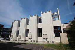愛知県名古屋市中川区高畑5の賃貸アパートの外観