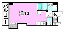 ドルーク三番町[302 号室号室]の間取り