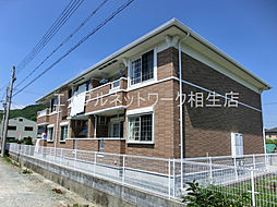 兵庫県たつの市御津町釜屋の賃貸アパートの外観