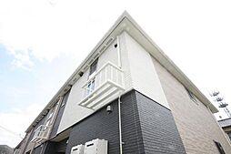 香川県高松市新田町の賃貸アパートの外観