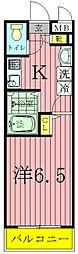 SSフラット[2階]の間取り
