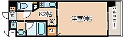 兵庫県神戸市中央区熊内橋通5丁目の賃貸マンションの間取り