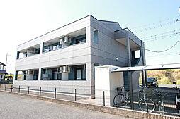 群馬県伊勢崎市太田町の賃貸アパートの外観