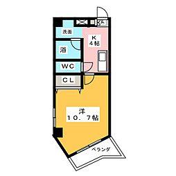 エトワール ポレール[5階]の間取り