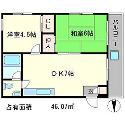 ライス88[2階]の間取り