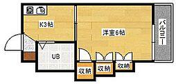 TERAMAE BLD NO.5[101号室]の間取り