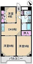 スペースエム[2階]の間取り