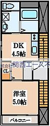 cys imazato[2階]の間取り