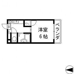 ビクトワール小阪[503号室号室]の間取り