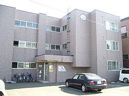 北海道札幌市南区澄川四条3丁目の賃貸マンションの外観