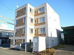 北海道江別市向ケ丘の賃貸マンションの外観