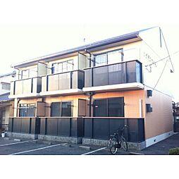 岡山県総社市中央1の賃貸アパートの外観