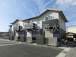 兵庫県三木市福井2丁目の賃貸アパートの外観