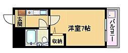 大阪府大阪市都島区内代町1の賃貸マンションの間取り