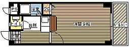 AMANO FLAT[202号室]の間取り