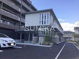 岡山県岡山市北区京山2丁目の賃貸アパートの外観